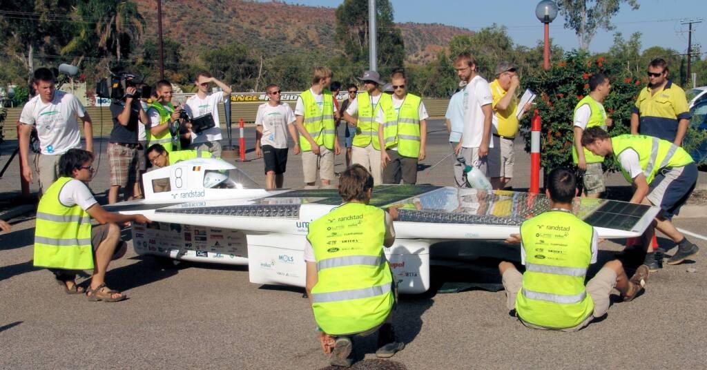 Umicore Solar Team - Umicore - 8 - Belgium - World Solar Challenge 2011