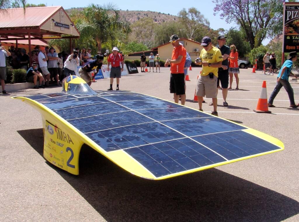 University of Michigan - Quantum - 2 - USA - World Solar Challenge 2011