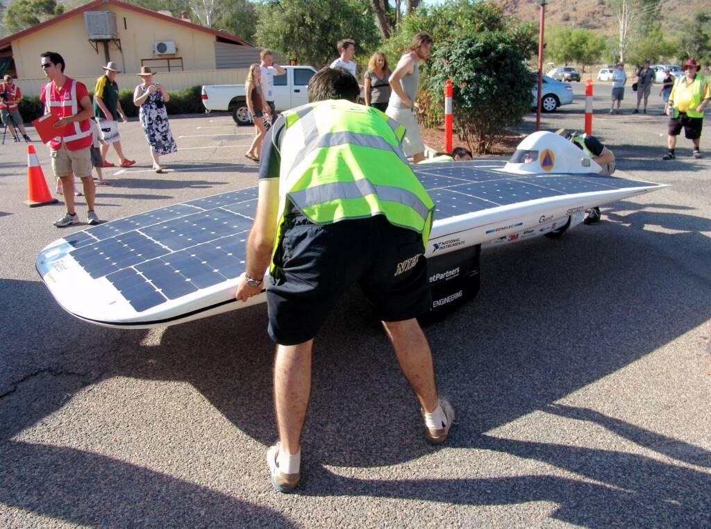 UNSW Solar Team - Sunswift IV, World Solar Challenge 2011