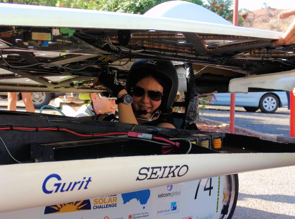 UNSW Solar Team - Sunswift IV