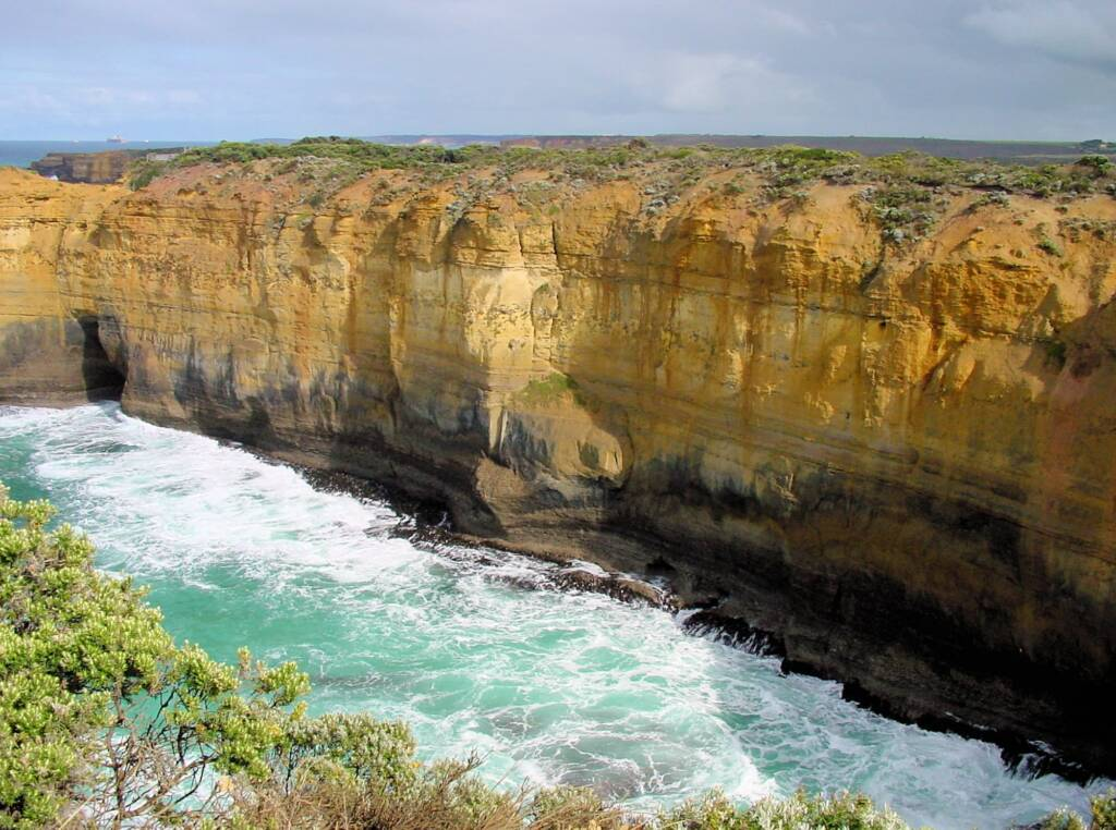 View from Island Arch Lookout, Great Ocean Road, VIC