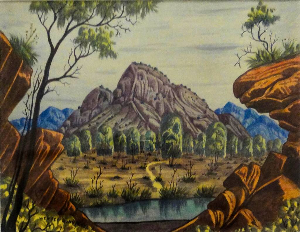 Western MacDonnell Ranges © Wenten Rubuntja